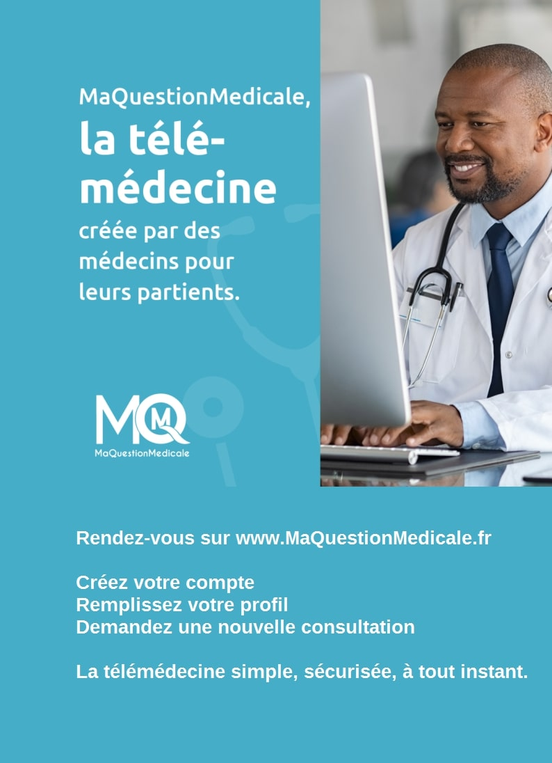Affiche homme A4 MaQuestionMedicale