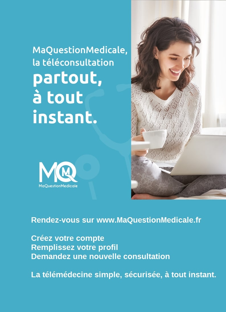 Affiche femme A4 MaQuestionMedicale
